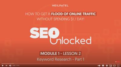 video keyword research