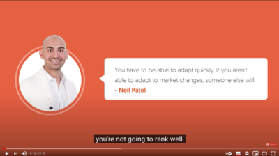 video course by Neil Patel