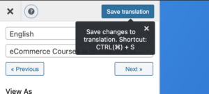 save-in-translate-page