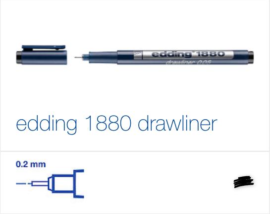 edding 1880 Drawliner