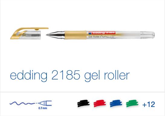 edding 2185 gel roller