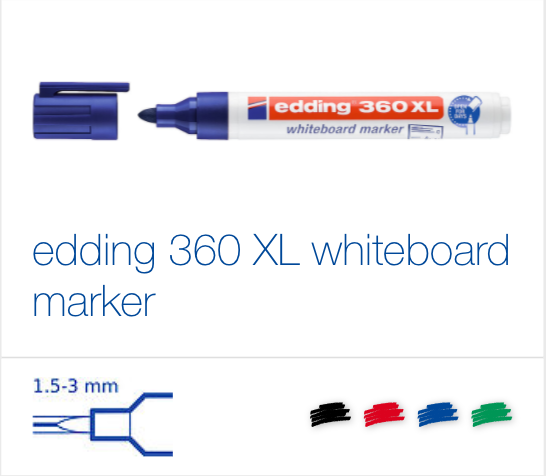 edding 360 XL whiteboard marker