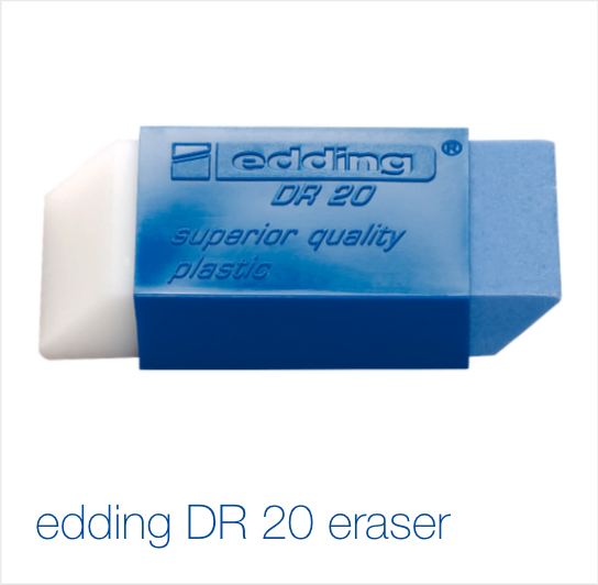 edding DR20 eraser